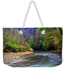 Buffalo River Downstream Weekender Tote Bag by Marty Koch