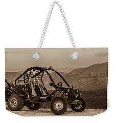 Buggy Weekender Tote Bag by Silvia Bruno