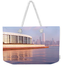 Building Structure Near The Lake, Shedd Weekender Tote Bag