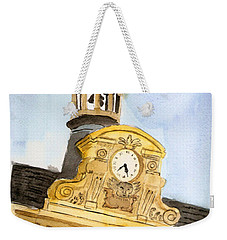 Building Top Paris Weekender Tote Bag