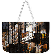 Building With Shimmering Circles Weekender Tote Bag