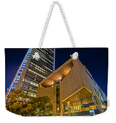 Buildings And Architecture Around Mint Museum In Charlotte North Weekender Tote Bag