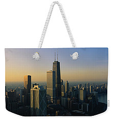 Buildings At The Waterfront, Chicago Weekender Tote Bag by Panoramic Images