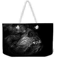 Bull Dog Weekender Tote Bag by Bob Orsillo