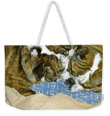 Bulldog Love Forever  Weekender Tote Bag