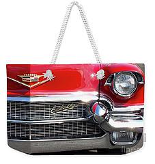 Bullet Bumpers - 1956 Cadillac Weekender Tote Bag
