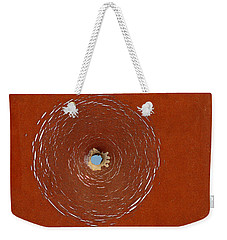 Bullet Hole Patterns Weekender Tote Bag by Art Block Collections