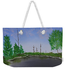 Bullfrog Reservoir Weekender Tote Bag by Jennifer Muller