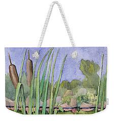 Bullrushes Weekender Tote Bag
