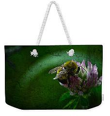 Bumble Bee Tattered Wings Art 2 Weekender Tote Bag