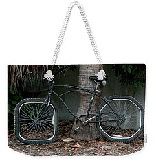 Weekender Tote Bag featuring the photograph Bumpy Ride by Mariarosa Rockefeller