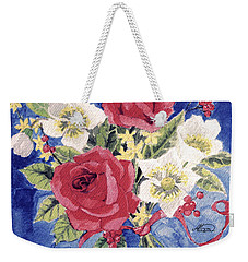 Bunch Of Flowers Weekender Tote Bag