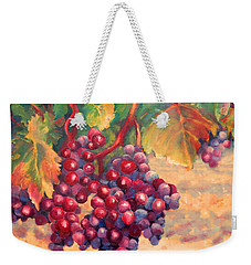 Bunch Of Grapes Weekender Tote Bag