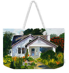 Bungalow In Sunlight Weekender Tote Bag
