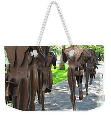 Buns Of Steel Weekender Tote Bag
