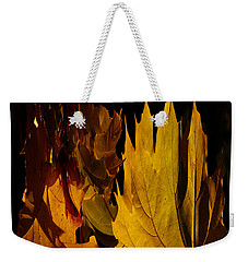 Burning Fall Weekender Tote Bag
