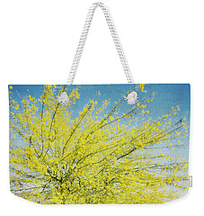 Weekender Tote Bag featuring the photograph Burst Forth by Lisa Parrish