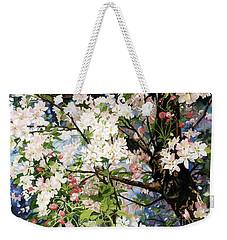 Burst Of Spring Weekender Tote Bag by Barbara Jewell