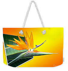 Weekender Tote Bag featuring the digital art Bursting Out Of The Box by Sue Melvin