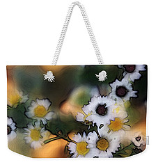 Bursting With Happiness Weekender Tote Bag by Ellen Tully