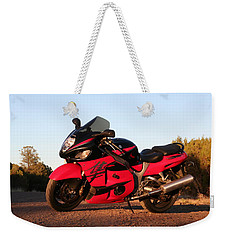 Weekender Tote Bag featuring the photograph Busa by David S Reynolds