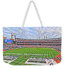 Busch Hosts Chelsea Versus Manchester City Weekender Tote Bag