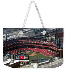 Busch Memorial Stadium Weekender Tote Bag