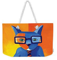 Business Cat Weekender Tote Bag