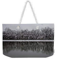 Weekender Tote Bag featuring the photograph Business Park Minimalism by Ben Shields