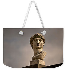 Bust Of Apollo Weekender Tote Bag