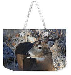 Busted Antlers Weekender Tote Bag