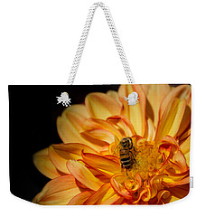 Busy Bee Dahlia Weekender Tote Bag