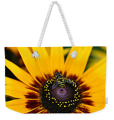 Busy Bee Weekender Tote Bag by Denyse Duhaime