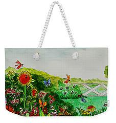 Busy Bee Garden Weekender Tote Bag
