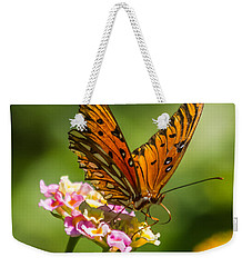Busy Butterfly Weekender Tote Bag by Jane Luxton