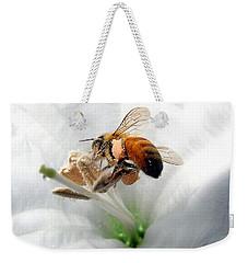 Busy Weekender Tote Bag by Joyce Dickens
