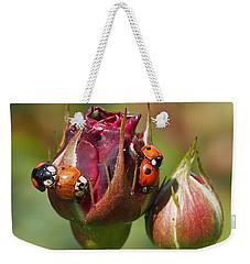 Busy Ladybugs Weekender Tote Bag