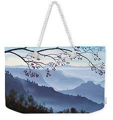 Butte Creek Canyon Mural Weekender Tote Bag