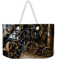 Butte Creek Mill Interior Scene Weekender Tote Bag