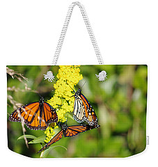 Butterflies Abound Weekender Tote Bag
