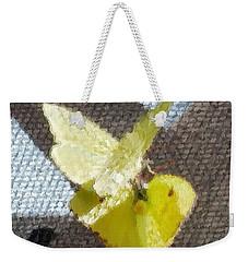 Sulfur Butterflies Mating Weekender Tote Bag