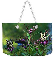 Butterflies Three Weekender Tote Bag