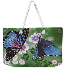 Butterfly #2 Weekender Tote Bag by Dianna Lewis