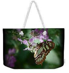 Weekender Tote Bag featuring the photograph Butterfly 7 by Leticia Latocki