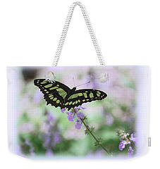 Weekender Tote Bag featuring the photograph Butterfly 8 by Leticia Latocki