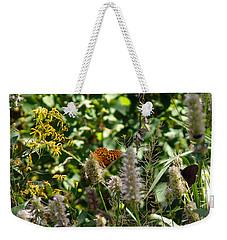 Butterfly Buffet Weekender Tote Bag