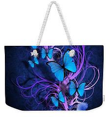 Butterfly Burst Weekender Tote Bag