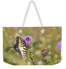 Weekender Tote Bag featuring the photograph Butterfly by Daniel Sheldon