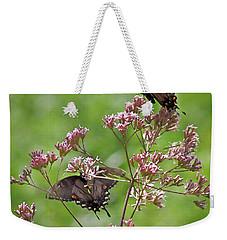 Butterfly Duet  Weekender Tote Bag