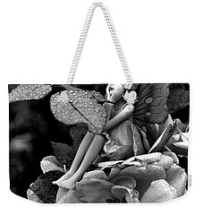 Butterfly Girl Weekender Tote Bag by Tine Nordbred